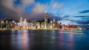 Quartier d'affaire en Chine. Source : FLICKR