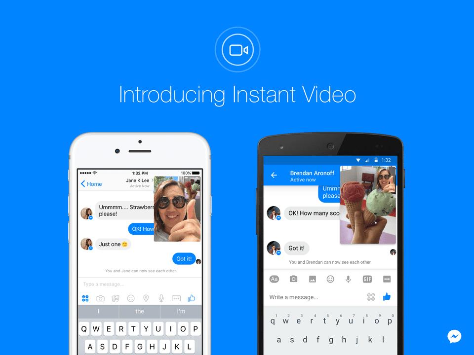 messenger instant video