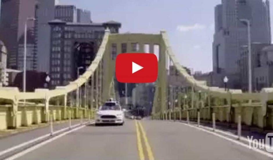 uber voiture sans conducteur