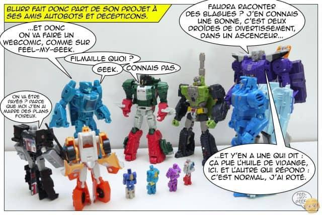 Le webcomic Transformers par le Journal du Geek - Content Marketing - vignette 2