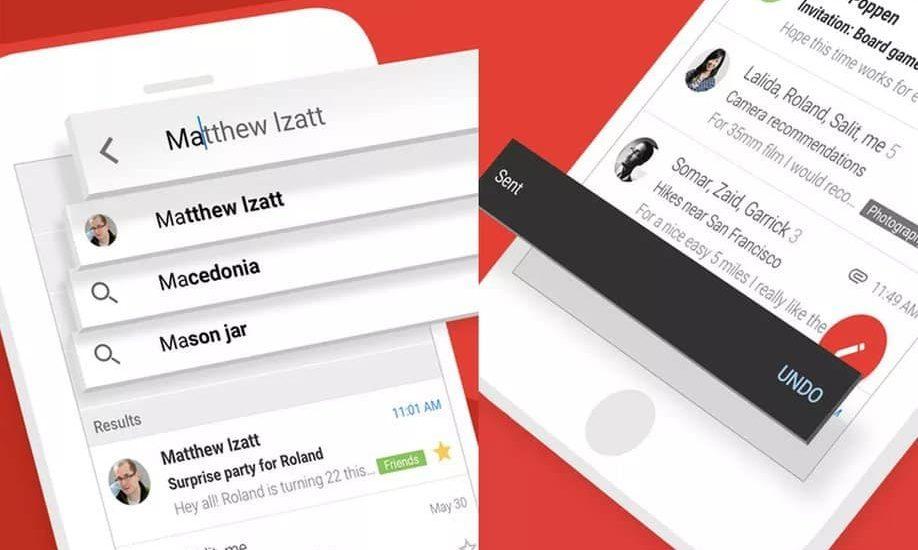 nouveau design gmail ios