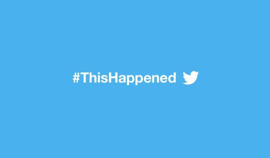 Twitter ThisHappened 2016