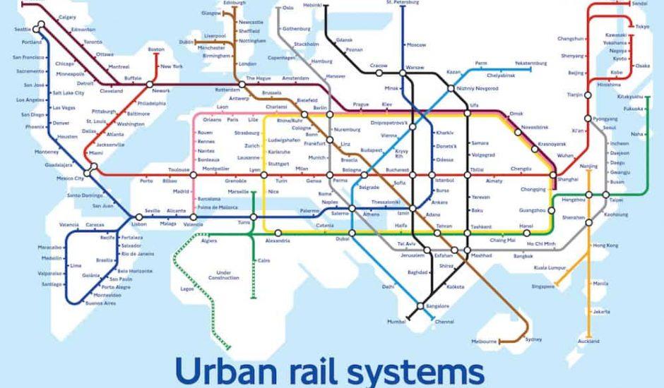 hyperloop carte du monde