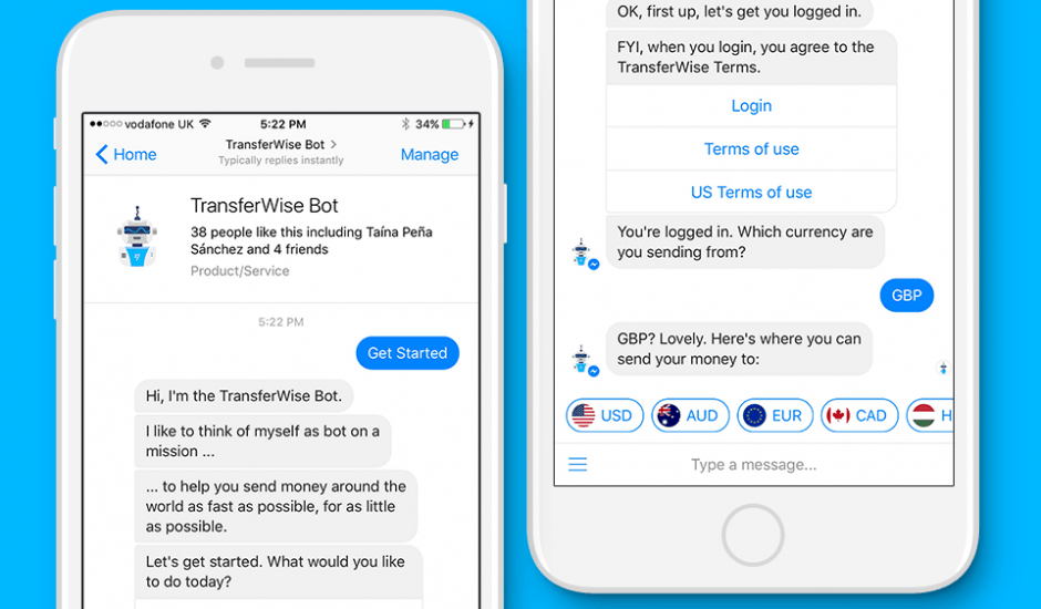 bot transferwise