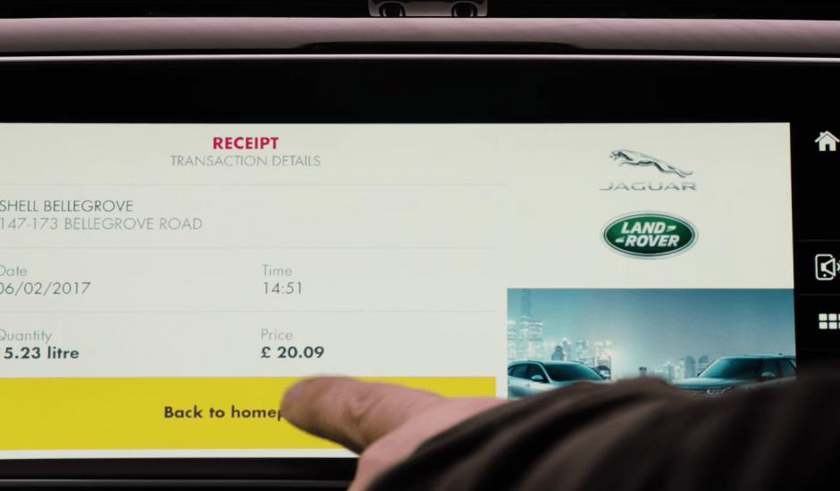 jaguar in car payment