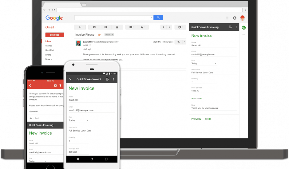 Gmail Add-ons still
