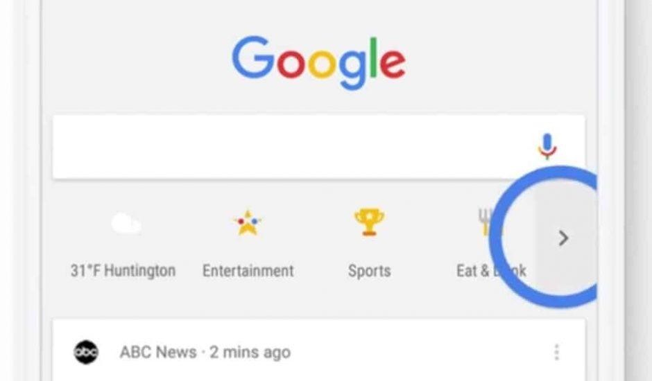 Google raccourcis