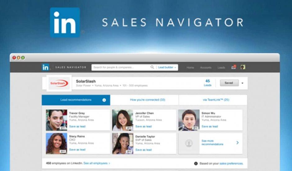 Sale navigator LinkedIn