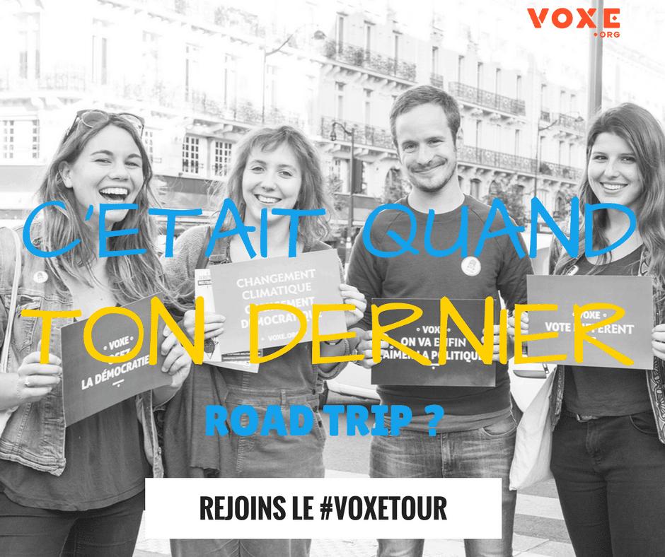Voxe tour- voxe.org