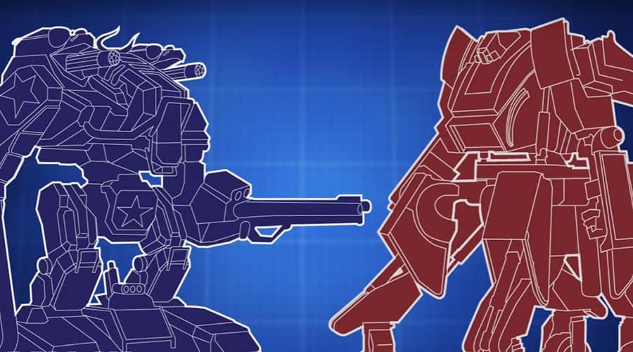 combat de robots entre les états-unis et le japon