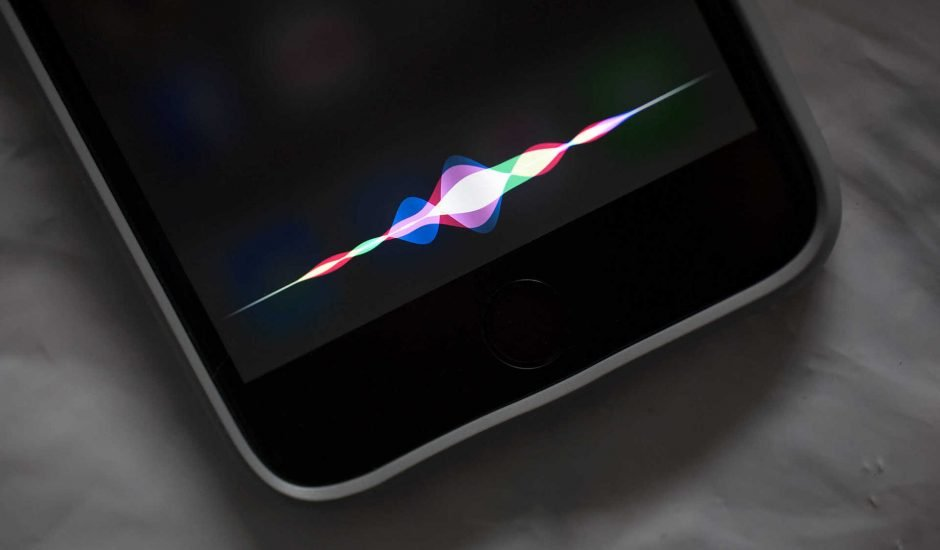 reconnaissance vocale avec siri, l'assistant apple
