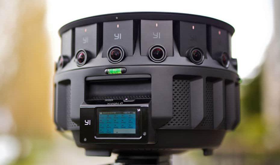 caméra 360° de google