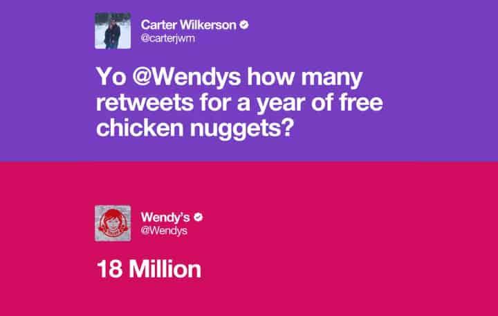 record du monde de retweets