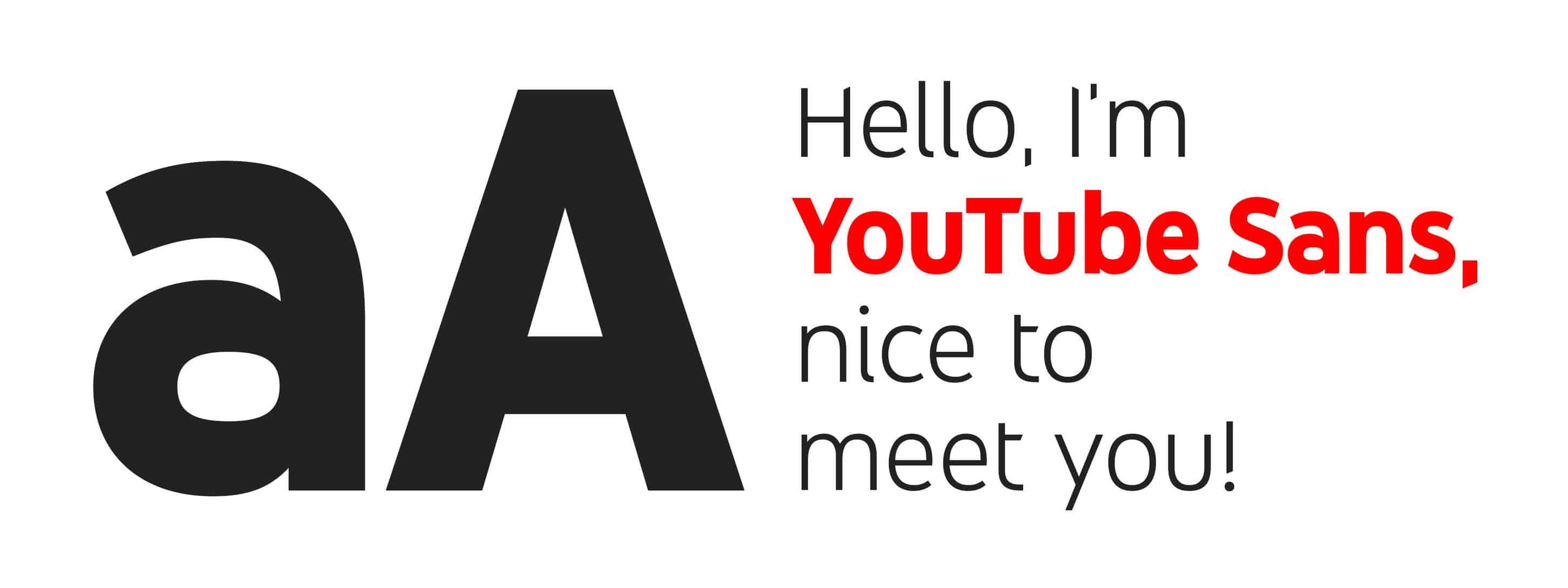 Typo Youtube Sans