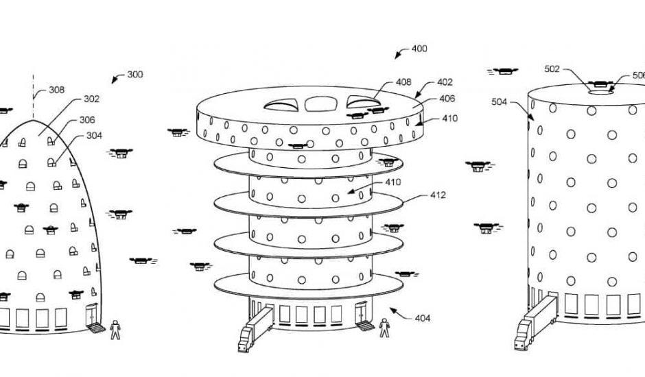 Amazon drone ruche