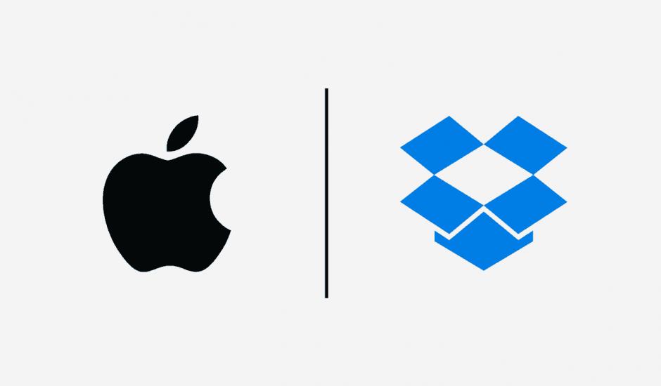 Apple et Dropbox