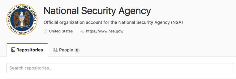 compte Github NSA