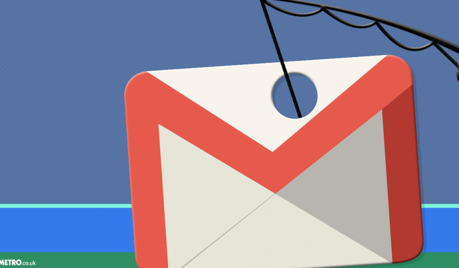 Messagerie Gmail phishing