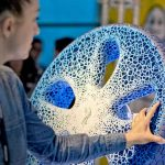 michelin pneu 3D vision concept