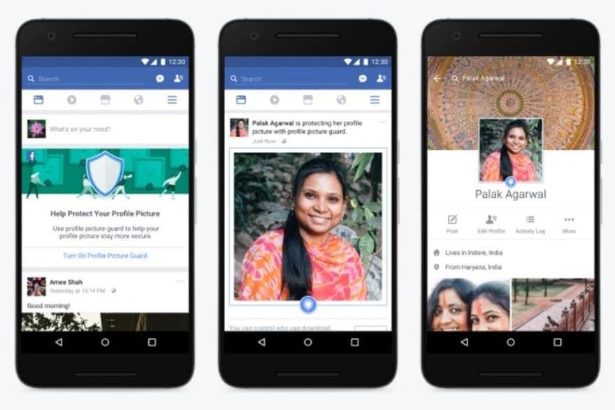 photos de profil Facebook sécurisée
