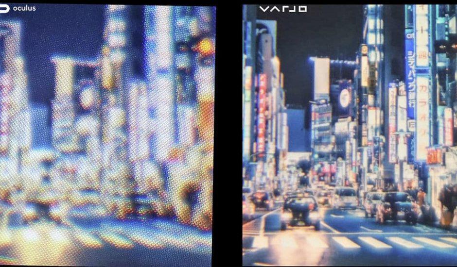 VR Oculus VS Varjo