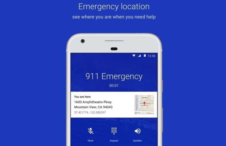 localisation GPS Google