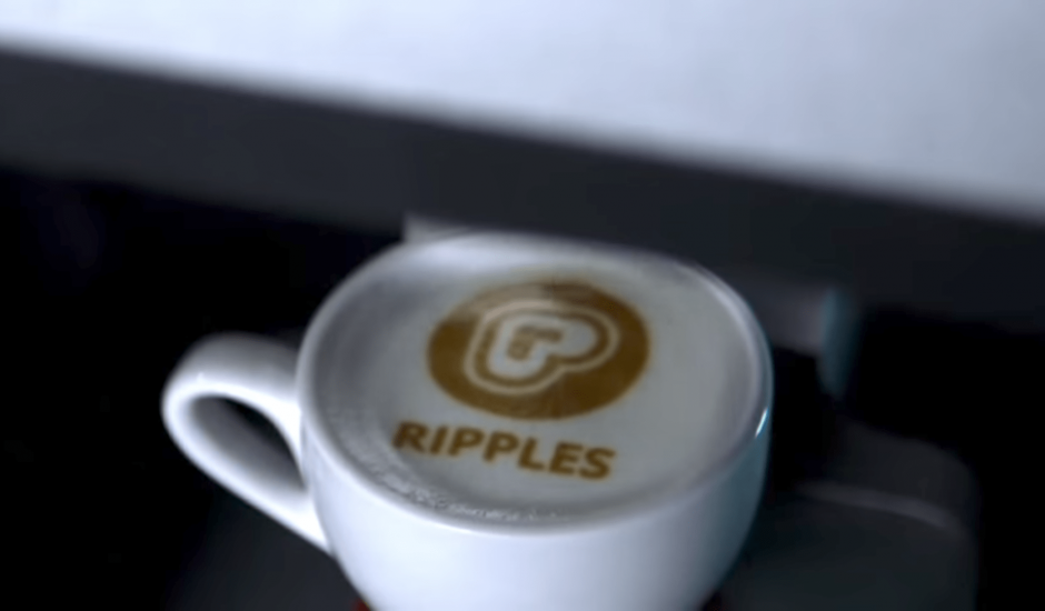Selfie cafe ripple maker