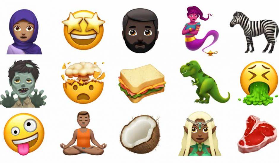 nouveaux emojis apple