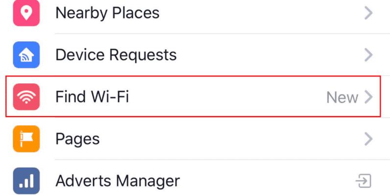 Find Wi-Fi