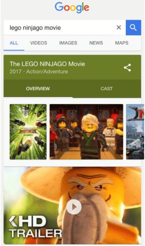 Google autoplay sur mobile