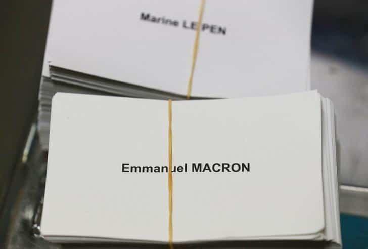 Bulletin de vote France