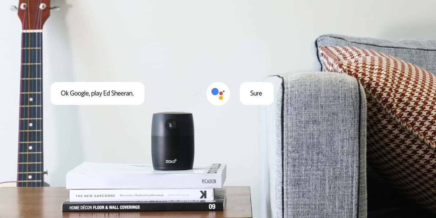 Google Assistant haut-parleur Zolo