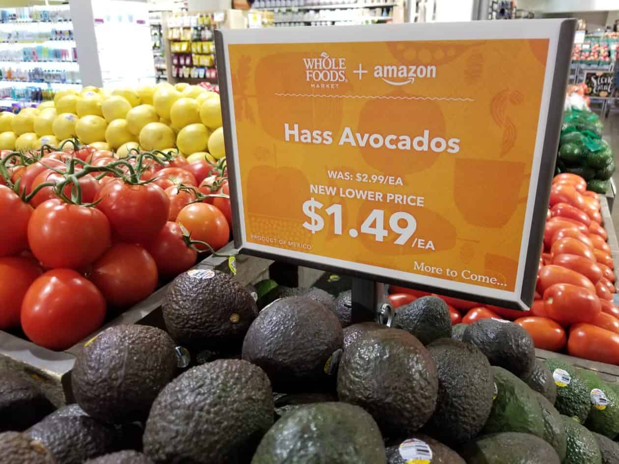 rayon avocat Whole Foods Market