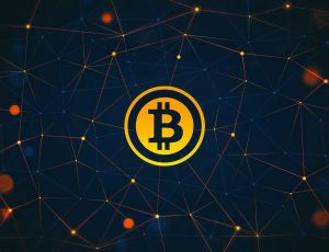 le symbole du bitcoin