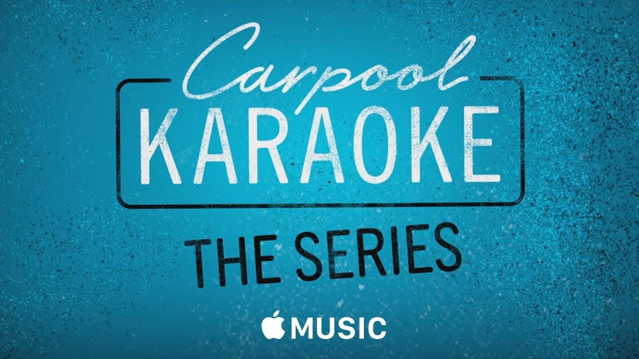contenu original d'Apple : Carpool Karaoke