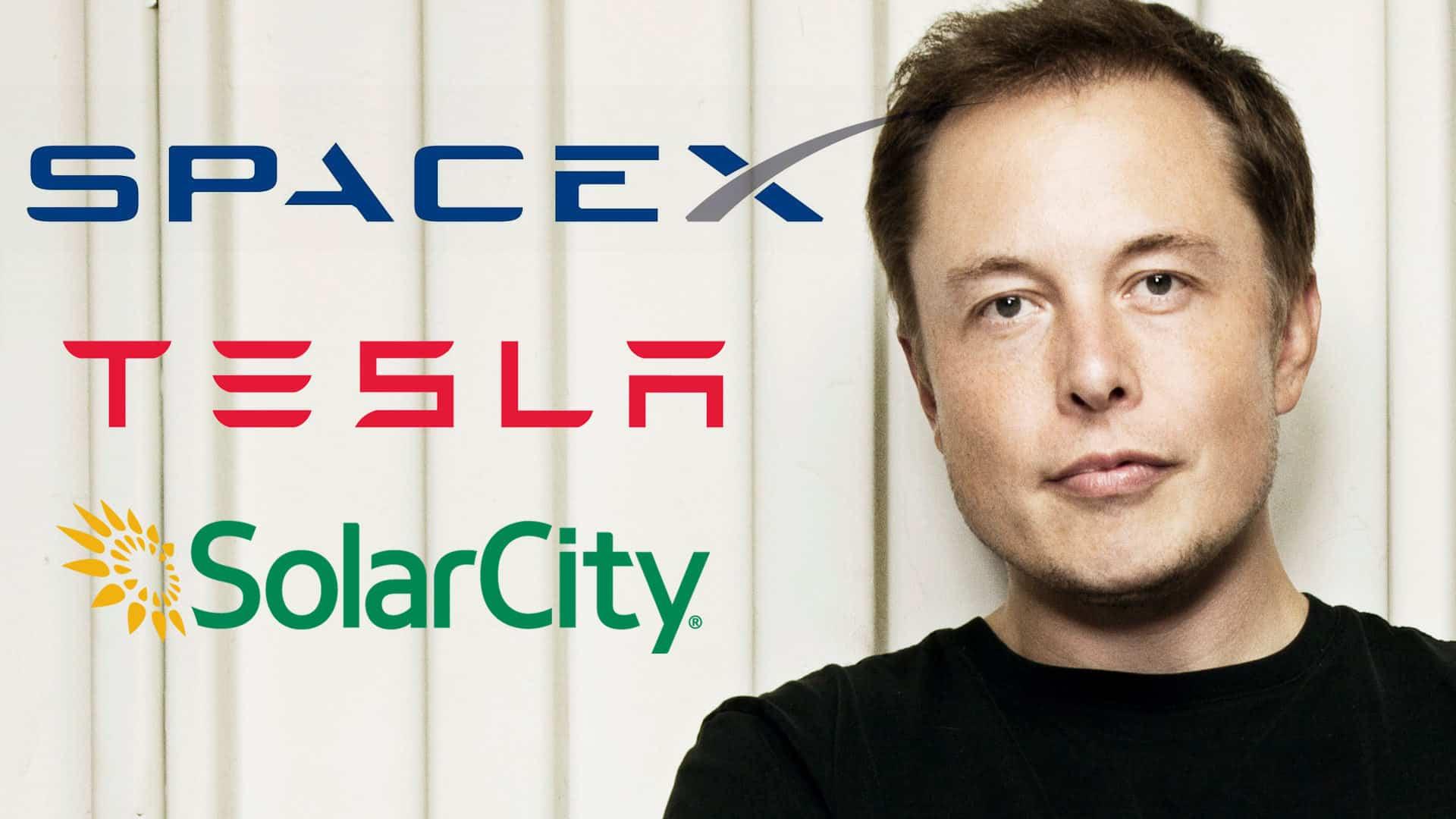 Elon Musk Tesla SpaceX SolarCity