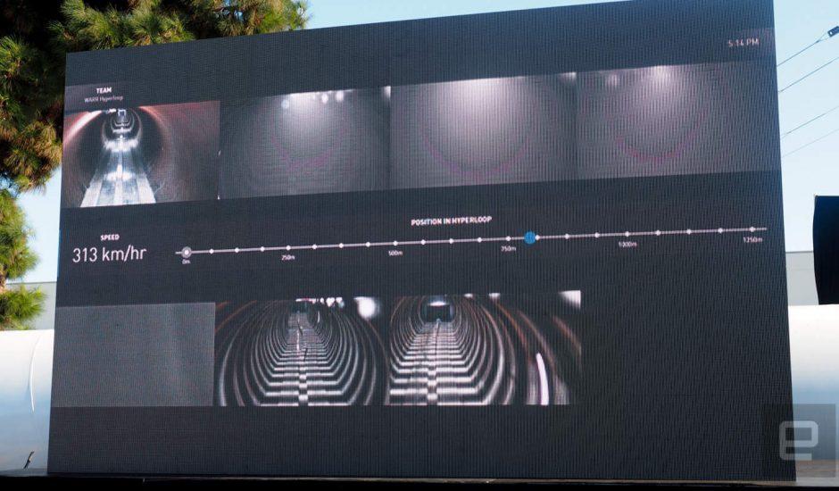 Compétition hyperloop