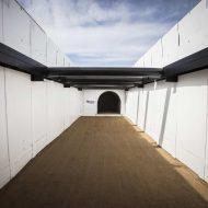 entrée du tunnel de The Boring Company