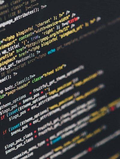 Des lignes de code