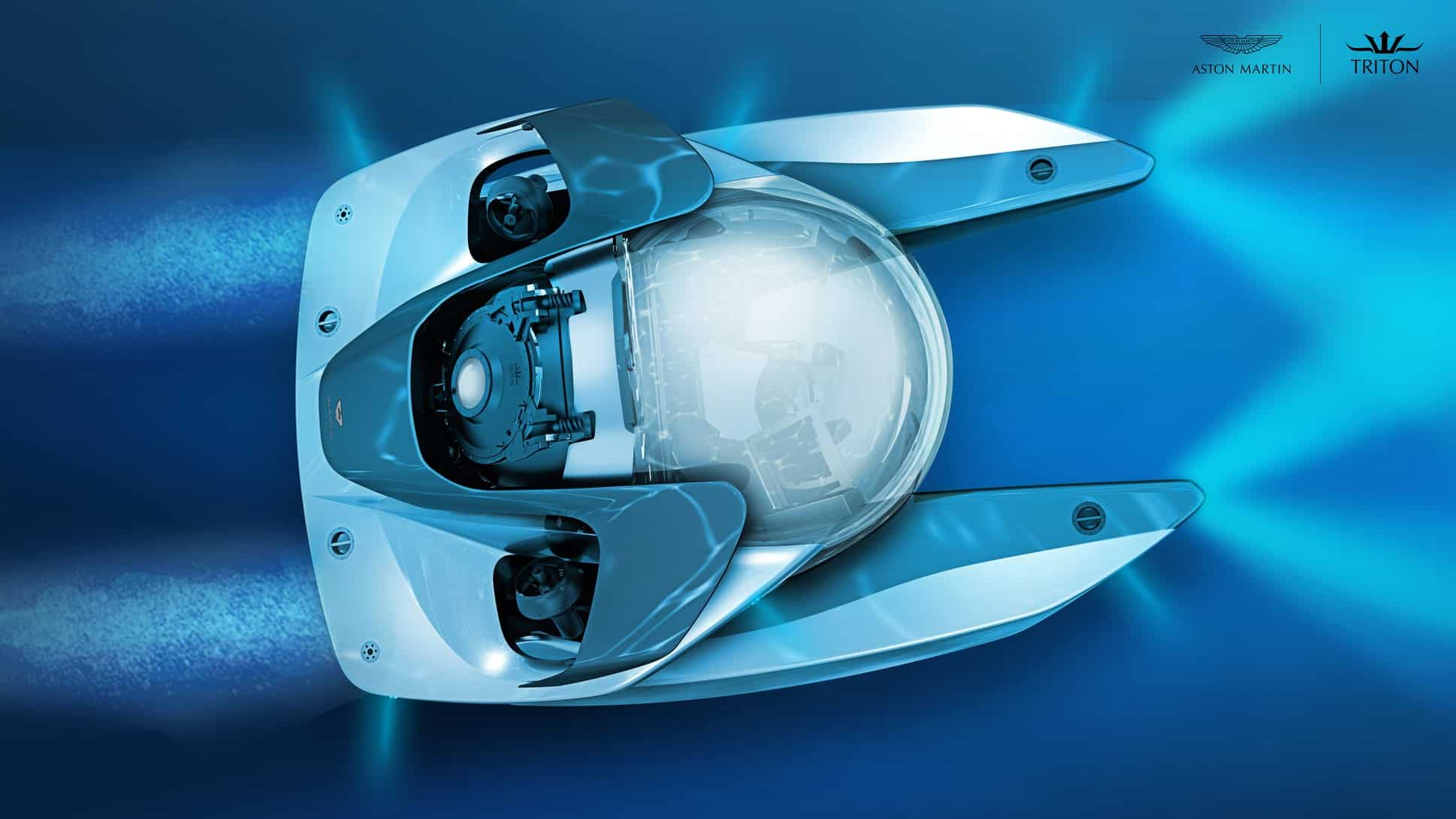 sous-marin Aston Martin