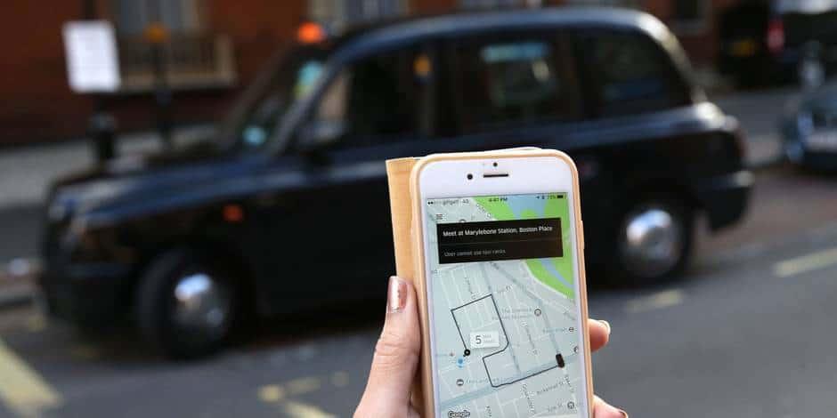 Uber à Londres