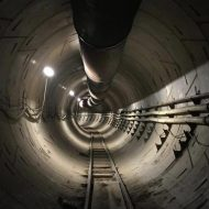 Elon Musk Boring Company Tunnel