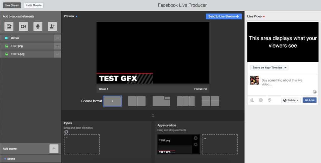 Facebook Live Producer