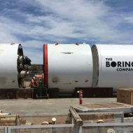 tunnelier Godot levée millions The Boring Company