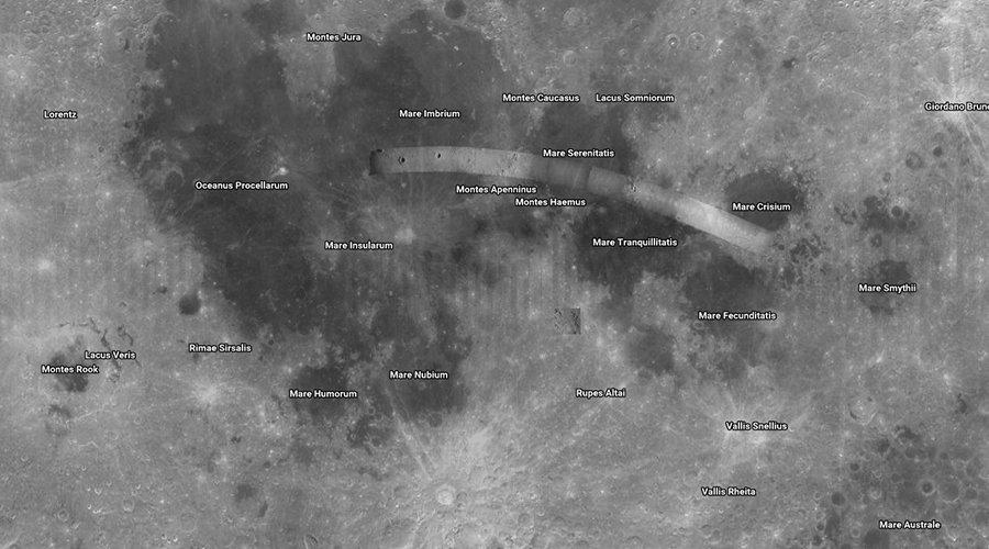 cartographie de l'espace avec Google Maps