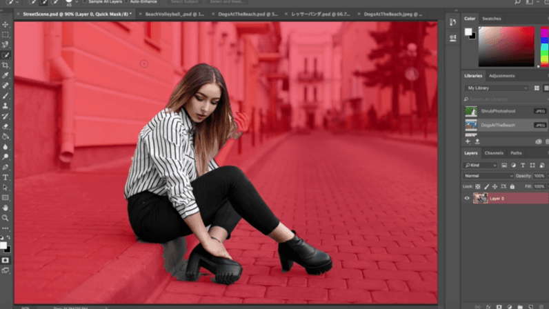 Adobe Photoshop Select Subject