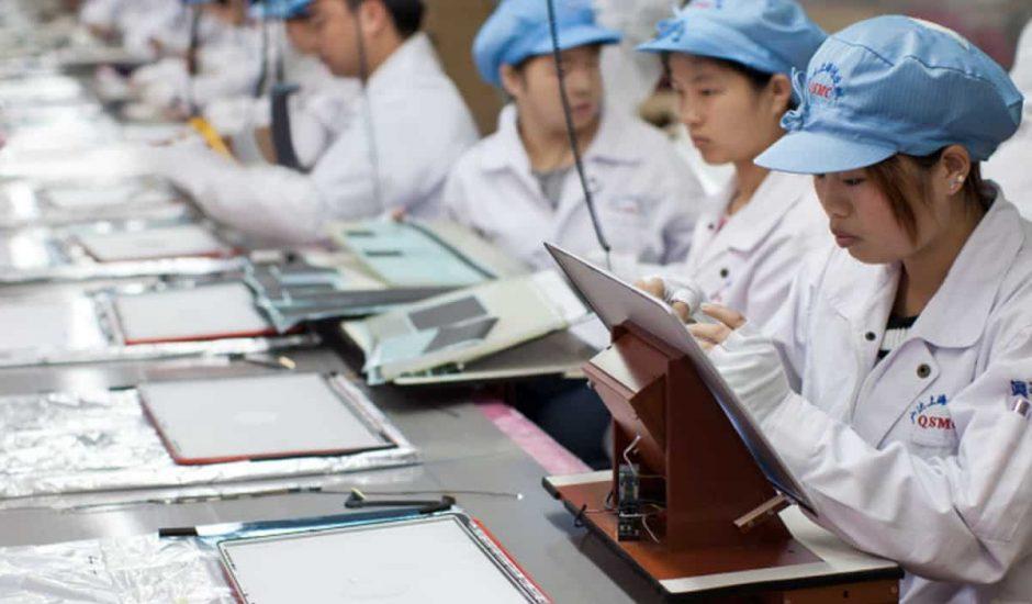 étudiants exploites par apple