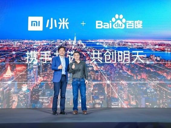 Baidu et Xiaomi