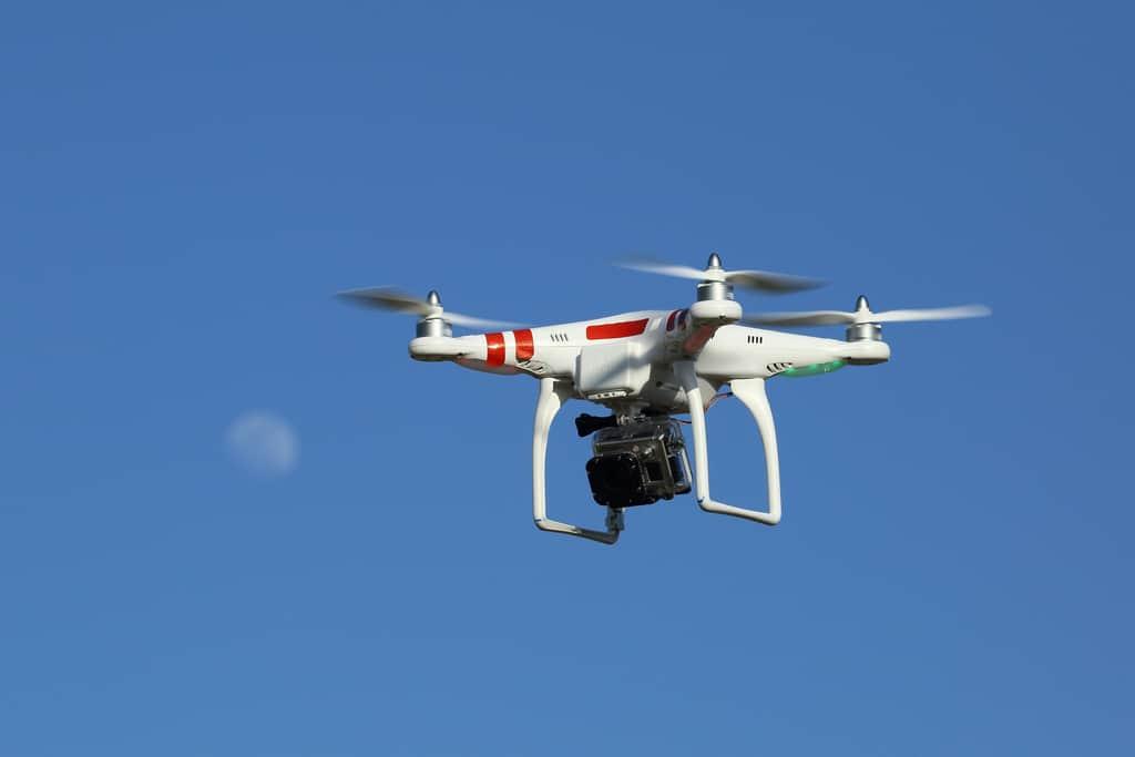 drone police France