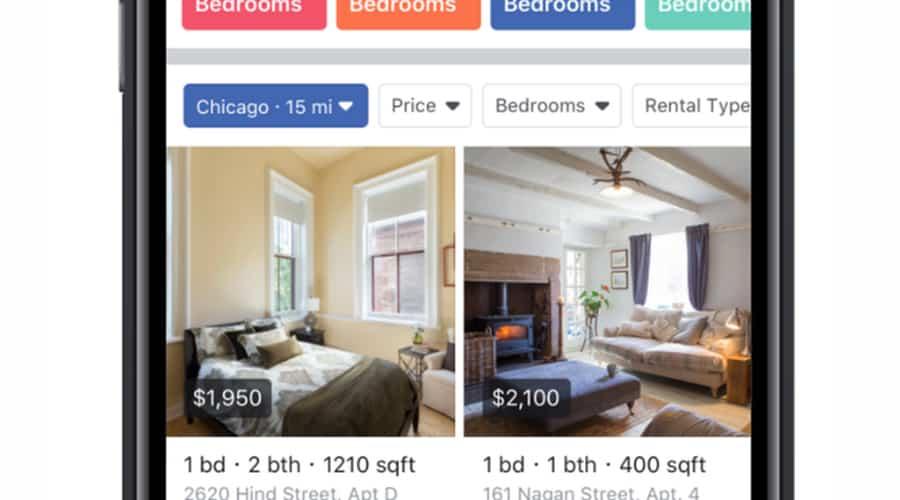 facebook marketplace : location appartement